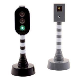 Traffic light and speed camera