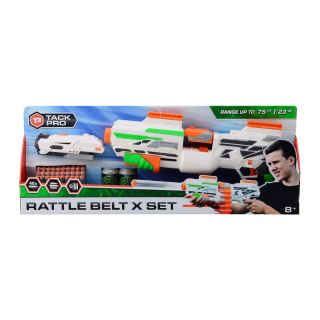 Tack Pro® Rattle Belt X Set with 40 darts and accessories