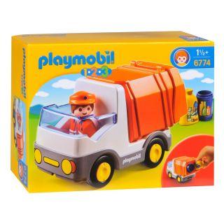 Playmobil® 1.2.3 - 6774 - Camion poubelle