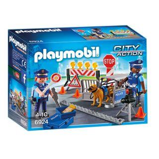 Playmobil® City Action - 6924 - Barrage de police
