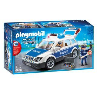 Playmobil® City Action - 6920 - Voiture de policiers avec gyrophare et sirène