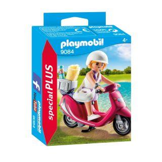 Playmobil® Special Plus - 9084 - Vacancière avec scooter