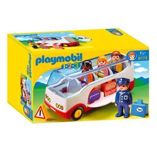 Playmobil® 1.2.3 - 6773 - Autocar de voyage