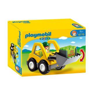 Playmobil® 1.2.3 - 6775 - Chargeur et ouvrier