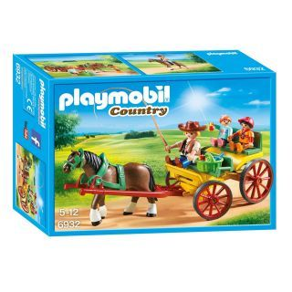 Playmobil® Country - 6932 - Calèche avec attelage