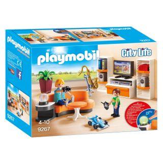 Playmobil® City Life - 9267 - Salon équipé