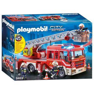 Playmobil® City Action - 9463 - Camion de pompiers avec échelle pivotante
