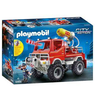Playmobil® City Action - 9466 - 4x4 de pompier avec lance-eau