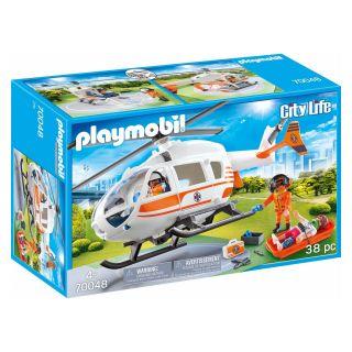 Playmobil® City Life - 70048 - Hélicoptère de secours