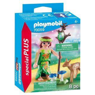 Playmobil® Special Plus - 70059 - Nymphe et faon