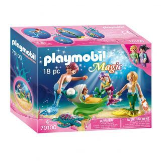 Playmobil® Magic - 70100 - Famille de sirènes
