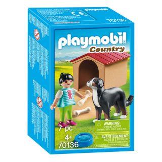 Playmobil® Country - 70136 - Enfant avec chien
