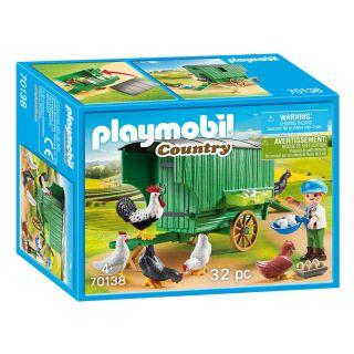 Playmobil® Country - 70138 - Enfant et poulailler