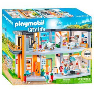 Playmobil® City Life - 70190 - Hôpital aménagé