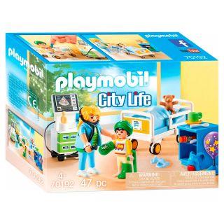 Playmobil® City Life - 70192 - Chambre d'hôpital pour enfant