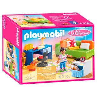 Playmobil® Dollhouse - 70209 - Chambre d'enfant avec canapé-lit
