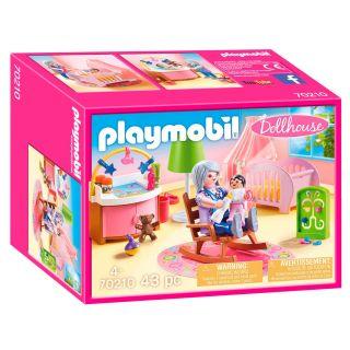 Playmobil® Dollhouse - 70210 - Chambre de bébé