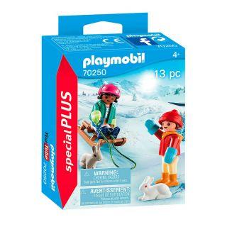Playmobil® Special Plus - 70250 - Enfants avec luge