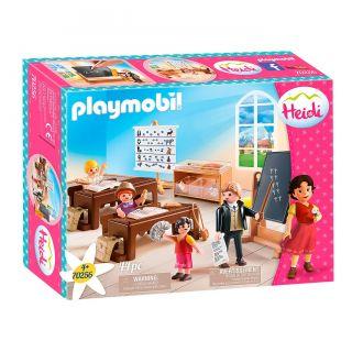 Playmobil® Heidi - 70256 - Salle de classe à Dörfli