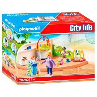 Playmobil® City Life - 70282 - Espace crèche pour bébés