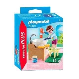 Playmobil® Special Plus - 70301 - Enfant avec lavabo