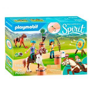 Playmobil® Spirit Riding Free - 70331 - Base d'entrainement