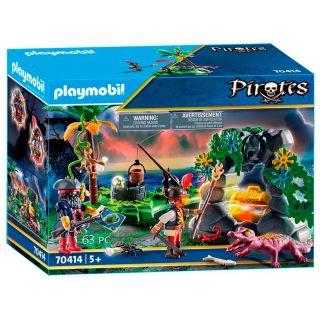 Playmobil® Pirates - 70414 - Repaire du trésor des pirates