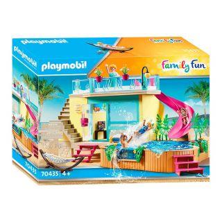 Playmobil® La croisière - 70435 - Bungalow avec piscine