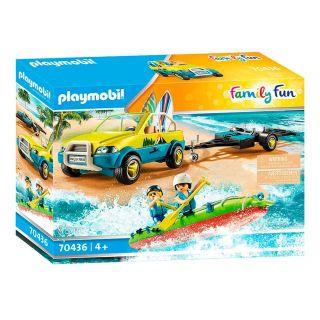 Playmobil® La croisière - 70436 - Voiture avec canoë