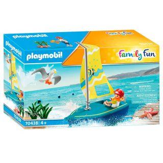 Playmobil® La croisière - 70438 - Enfant avec voilier