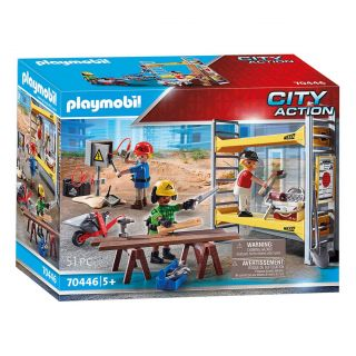 Playmobil 70446 Scaffolding with Workers