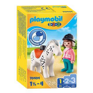 Playmobil 70404 Rider with Horse