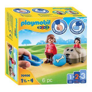 Playmobil 70406 Dog train