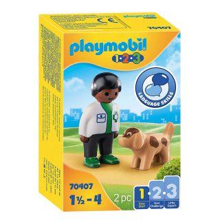 Playmobil 70407 Vet with Dog