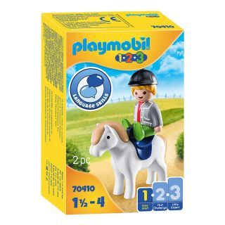 Playmobil 70410 Boy with Pony