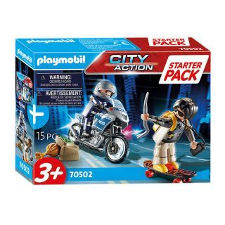 Playmobil 70502 Starterset Police pursuit