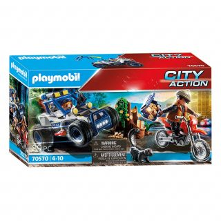 Playmobil 70570 Police Chase of the Treasure Robbers