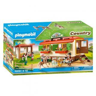 Playmobil 70510 Pony Camp Trailer