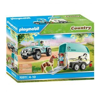 Playmobil 70511 Car with Trailer