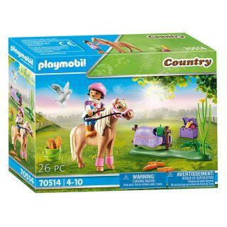 Playmobil 70514 Collectible pony Icelandic horse