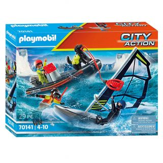 Playmobil 70141 Rescue with Pool Glider with Tugboat