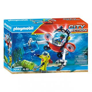 Playmobil 70142 Environment mission with Submarine