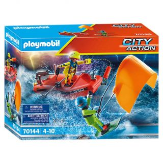 Playmobil 70144 Kite Surfer Rescue with Boat