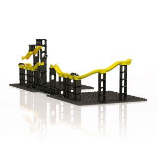 Hubelino Ball track Pi - Expansion set Cannon, 70 pcs.