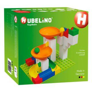 Hubelino Marble Track Expansion Set Funnel, 44 pcs.