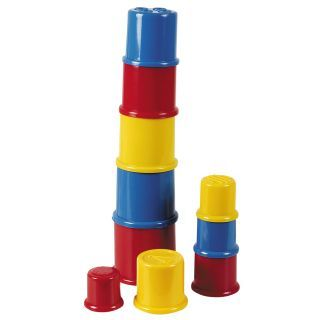 Happy World Stacking cups, 10 pcs.