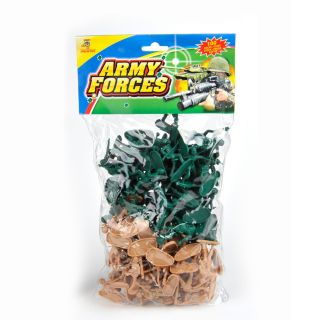 Soldiers in bag, 100pcs.