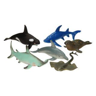 Ocean animals, 6pcs
