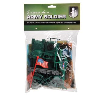 Army Forces Playset with Playmat