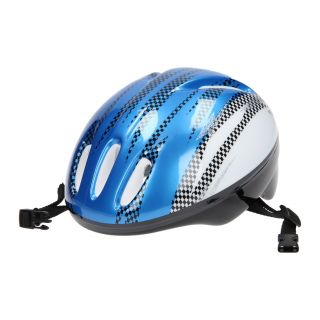 Bicycle helmet, size 50-54-blue/white